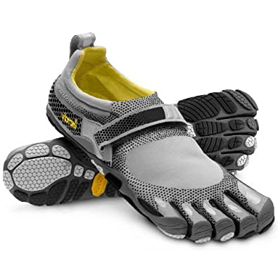 Vibram Mens Bikila Athletic Shoe (Grey / Black, 45 M EU)