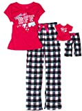 Dollie & Me Girls 7-16 Sweet Heart Rose Printed Jersey Lounge Pant