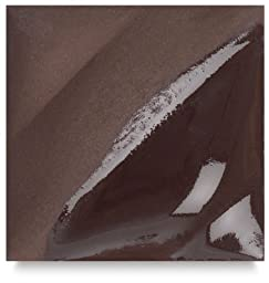 Amaco Velvet Underglaze - Chocolate Brown V-314 - Pint by AMACO