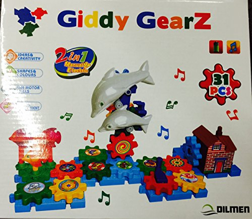 GIDDY GEARZ DOLPHIN SCHOOL SET 31 PCS CREATIVE TOY