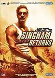 Singham Returns DVD - 2014 Bollywood Movie / Ajay Devgn / Kareena Kapoor