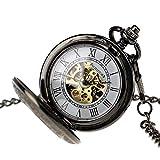 クラシック ヴィンテージ アンティーク 懐中時計 ステンレススチール PX-012-B 2012年モデル Pacifist社 【並行輸入品】