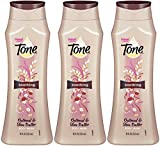 Tone Smoothing Body Wash, Oatmeal and Shea Butter, 24 Ounce(Pack of 3)