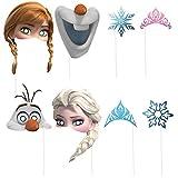 Disney Frozen Photo Booth Props, 8pc