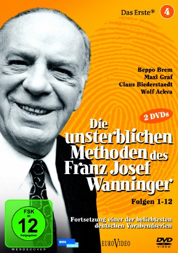 Die unsterblichen Methoden des Franz Josef Wanninger - Box 4, Folgen 1-12 [2 DVDs]