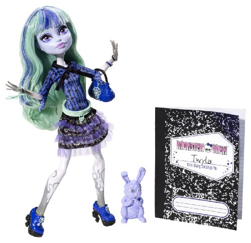 Mattel BBJ99 - Monster High 13 Wünsche Twyla, Puppe