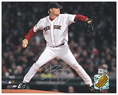 "Curt Schilling Boston Red Sox 2004 World Series Autographed 8"" x 10"" Photograph - Fanatics Authentic Certified"