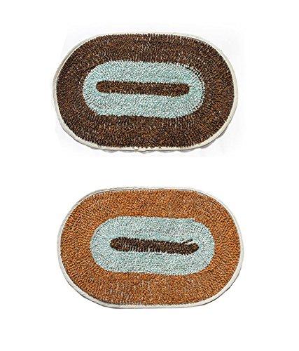 Buy online quality store perfect combo of 5 door mats for - Look buying perfect doormat ...