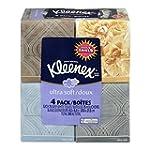 KLEENEX Ultra Soft Facial Tissue, 3-P...