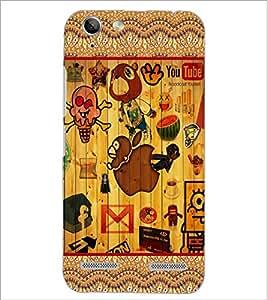 PrintDhaba Cartoon D-3062 Back Case Cover for LENOVO VIBE K5 (Multi-Coloured)