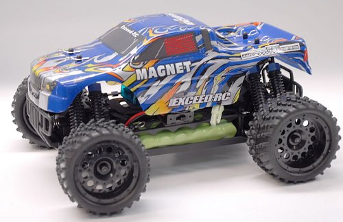 1/16 2.4Ghz Exceed RC Magnet EP Electric RTR Off Road Truck Stripe Blue