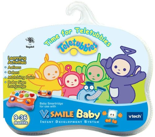 Vtech - V.Smile Baby Smartridge Teletubbies front-1078207