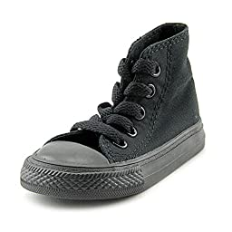 Converse Infants/Toddlers Chuck Taylor® All Star Core High,Black Monochrome,US 4