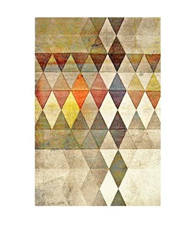 Chic Orange Alfombra Belis / Carpet Scandinave Multicolor