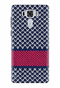 Noise Designer Printed Case / Cover for Asus ZenFone 3 Laser ZC551KL with 5.5 inch screen size / Nature / Marine Pattern Design