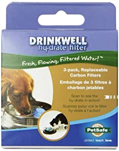 Drinkwell Hy-Drate Filter, 3-Pack