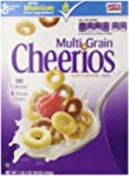 Multi Grain Cheerios Cereal, 18 Ounce (Pack of 2)
