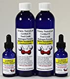 Two TNL 8 Oz 35 Percent Food Grade Hydrogen Peroxide H2o2 Best on the Market with Two Free h2o2 Filled Dropper Bottles.