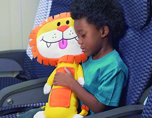 Seat Pets Yellow/Orange Lion Car Seat Toy - 1