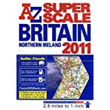 Great Britain Super Scale Road Atlasby Geographers' a-Z Map...