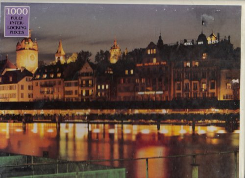 Luzern Switzerland 1000 Piece Jigsaw Puzzle