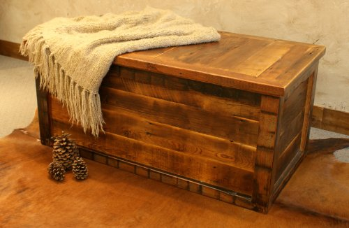 Barnwood Designs Reclaimed Black Mountain Trunk
