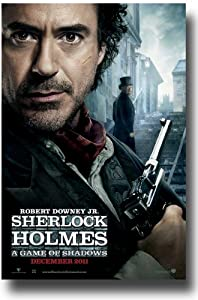 Sherlock Holmes Poster A Game of Shadows 2 -2011 Movie Teaser Flyer 11 x 17 Robert Downey Jr DFT