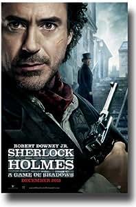 Sherlock Holmes Poster A Game of Shadows 2 -2011 Movie Teaser Flyer 11 x 17 Robert Downey Jr DFT