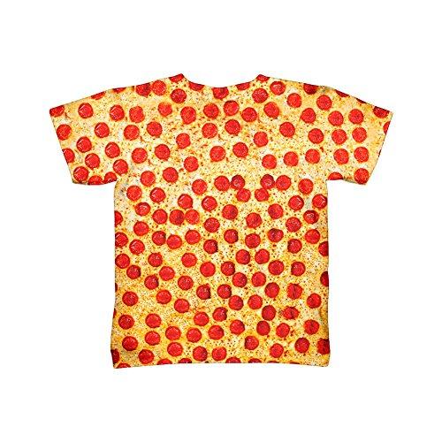 Yizzam- Pepperoni Pizza -TShirt- Kids Shirt-Small