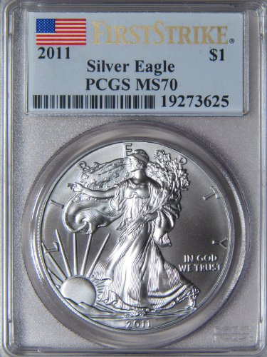2011 American Silver Eagle PCGS MS70 First Strike