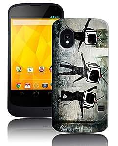 PrintFunny Designer Printed Case For LG Google Nexus4