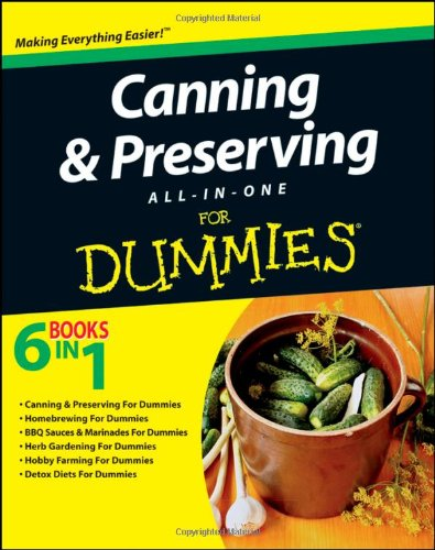 Canning and Preserving for Dummies PDF eBook