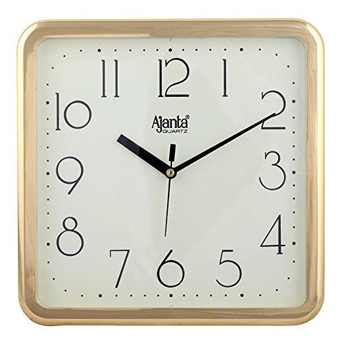 Ajanta Quartz Wall Clock Square Shape