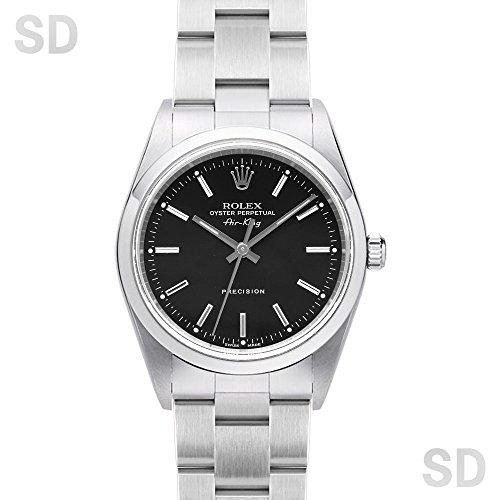 [ロレックス]ROLEX腕時計 エアキング ブラック Ref:14000M メンズ [中古] [並行輸入品]