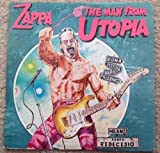 FRANK ZAPPA The Man From Utopia LP Vinyl NM Cover VG++ Booklet Japan CBS/Sony