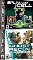Tom Clancy 3 Pack: Ghost Recon Advanced Warfighter + Splinter Cell + Pandora Tomorrow
