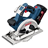 Bosch Professional GKS36V LI 36V Li Ion Cordless Circular Saw 2 x 2.6A Batteries
