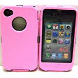 Body Armor for iphone 4 Defender Style Case(PINK/BLACK) BY SportyGigabite ~ SportyGigabite