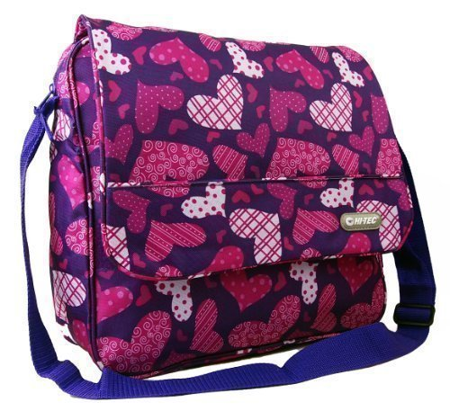 New Girls Womens Love Hearts Hi-Tec School Uni
