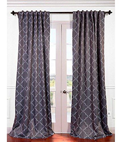 Half price drapes boch kc21 108 blackout curtain seville for 108 window treatments
