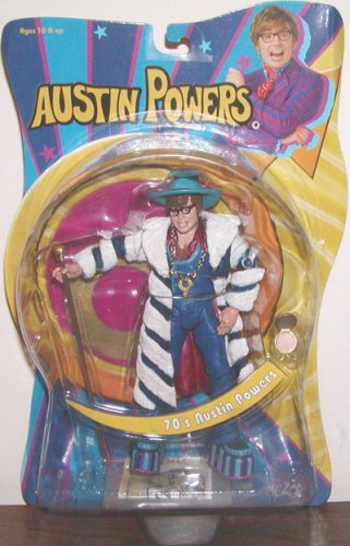 Buy Low Price Mezco 70's Austin Powers Action Figure (B000OT0GP6)