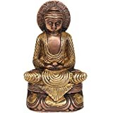 Exotic India Dhyani Buddha - Brass Statue