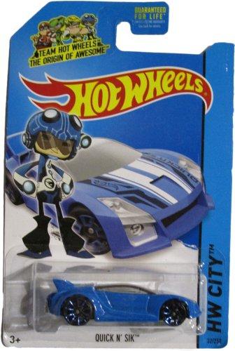 Hot Wheels 2014 Hw City Speed Team Blue Quick N' Sik 32/250 - 1