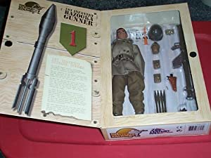 "The Ultimate Soldier 1st Infantry Bazooka Gunner 12"" action figure"