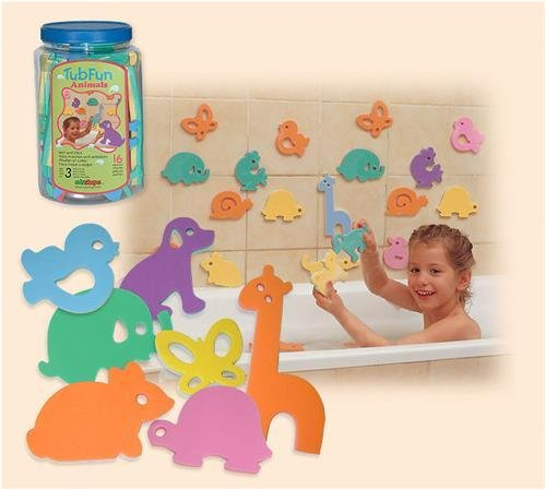 Buy EduShape 507010 TUB FUN – ANIMALS (SET OF 16)