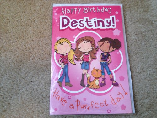 Happy Birthday Destiny - Singing Birthday Card