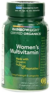 Rainbow Light, Women's Organic Multivitamin, 120 Count