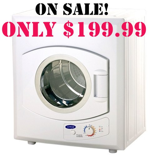 best price sonya portable compact small washing dryer apartment size