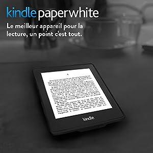 """Kindle Paperwhite 3G (6ème génération), Écran Haute Résolution 6"""" (15 cm) 212 ppp avec éclairage intégré et Wi-Fi + 3G gratuit"""