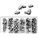 110-Piece Hydraulic Grease Fitting Assortment - Metric